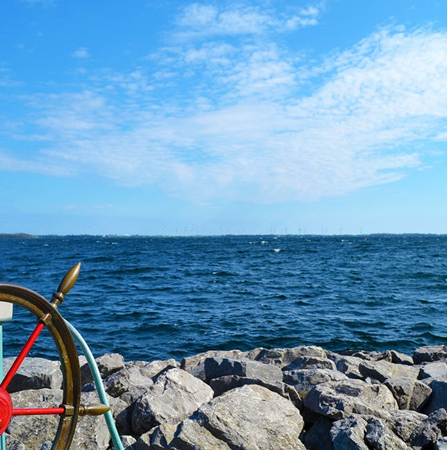 A view from Ahoy Rentals – Kingston's only on the water equipment rentals.
