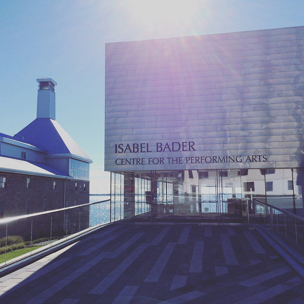 Photo via The Isabel Bader Centre for Performing Arts