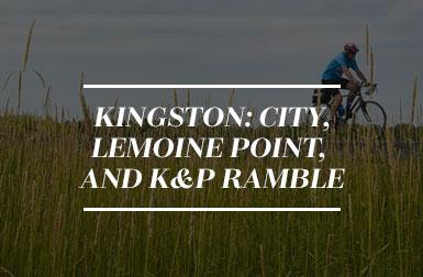 Kingston: City, Lemoine Point, and K&P Ramble