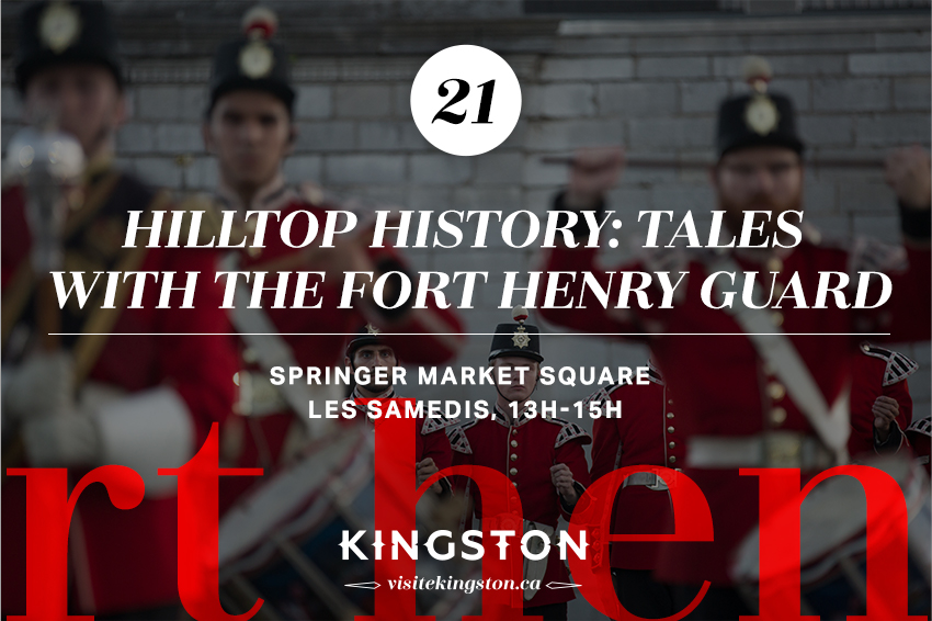 Hilltop History: Tales with the Fort Henry Guard