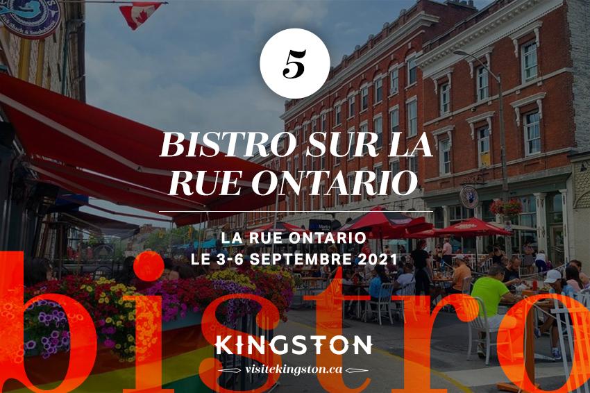 Bistro sur la rue Ontario