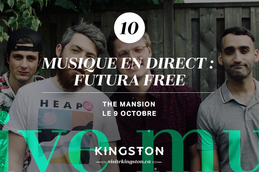 Musique en direct : Futura Free
