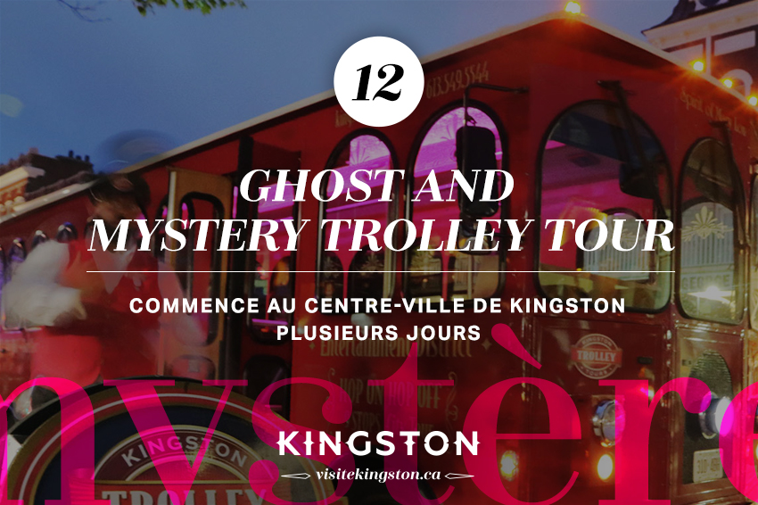 Ghost and Mystery Trolley Tour