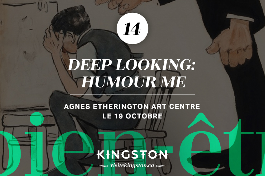 Deep Looking: Humour Me