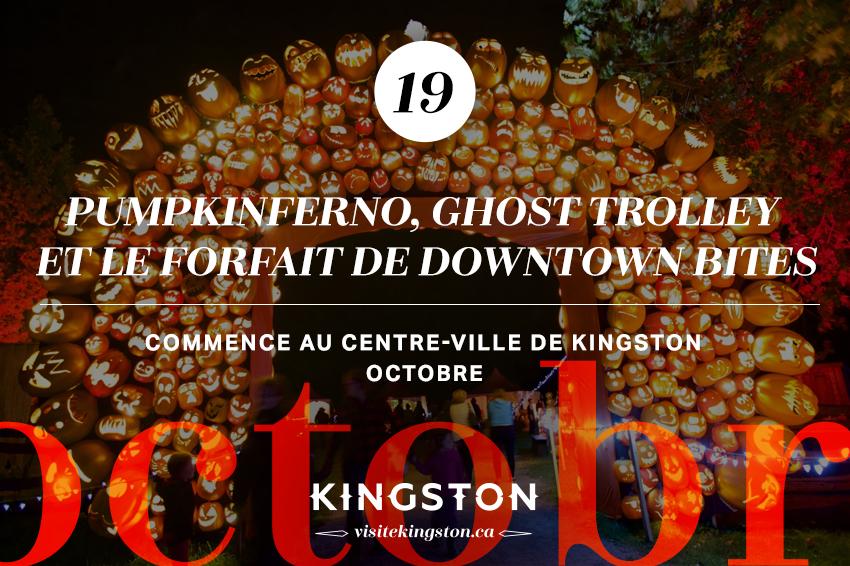 Pumpkinferno, Ghost Trolley et le forfait de Downtown Bites